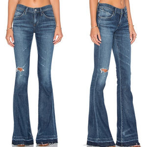 Agolde | NWT Madison 70's Distressed Flare sz 32